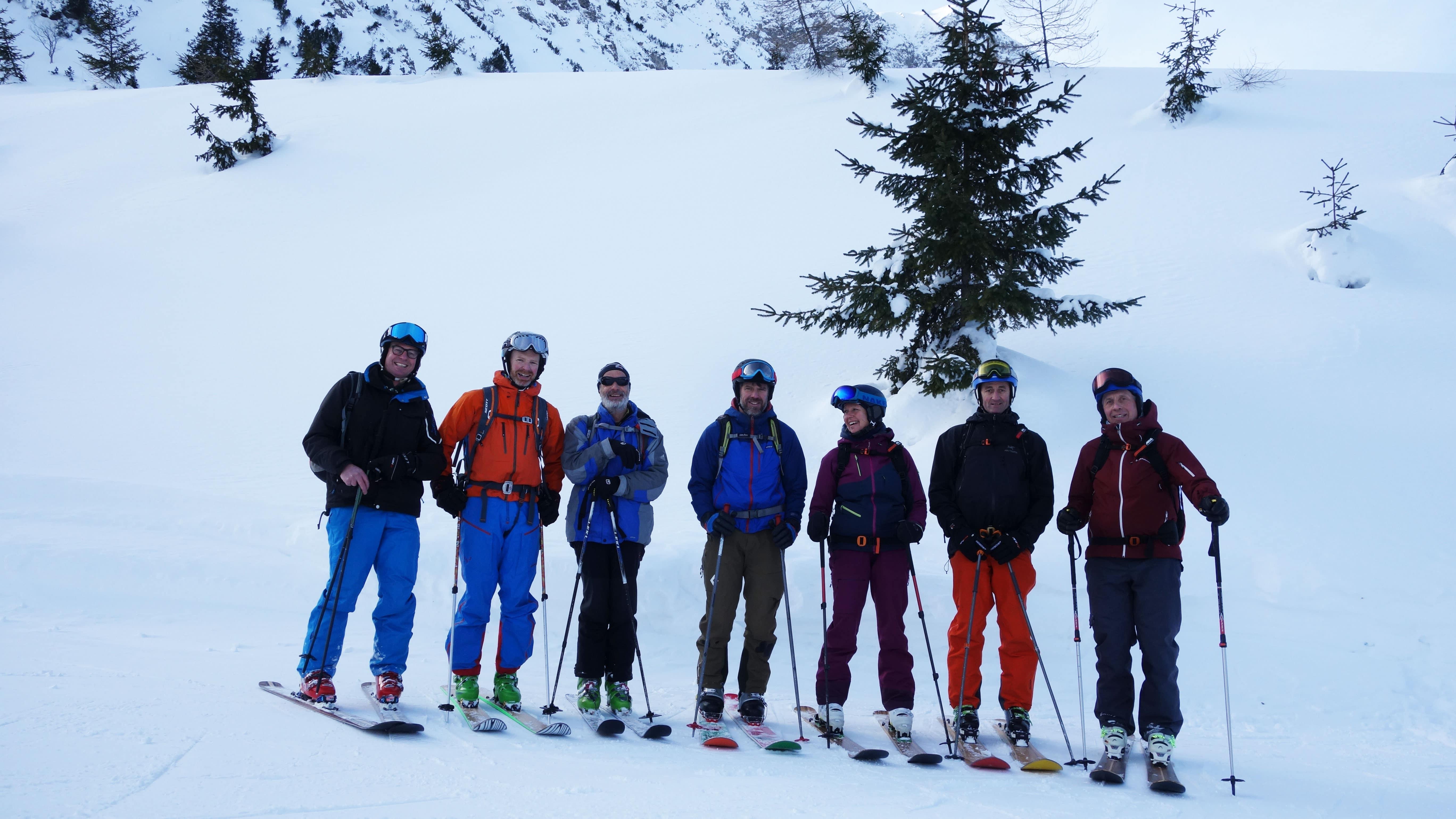 Skibauertag 2019 Nesselwängle und Tannheim.